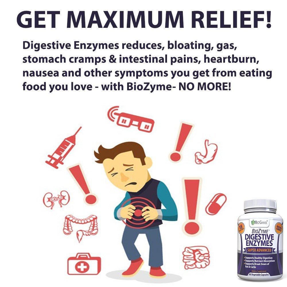 Amazon Bioganix Digestive Enzymes Supplement Ultra Advanced