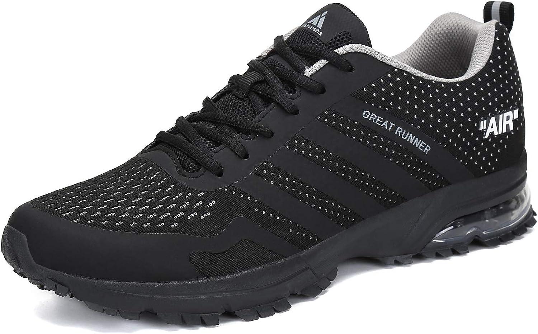 Hombre Mujer Zapatillas de Deporte de Running Deportivas para Trail Fitness Casual Sneakers