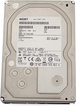 HGST Ultrastar 7K4000 HUS724030ALE641 0F17731 Certified Refurbished 3TB 64MB Cache 7200RPM SATA III 6.0Gb//s 3.5 Enterprise Internal Hard Drive