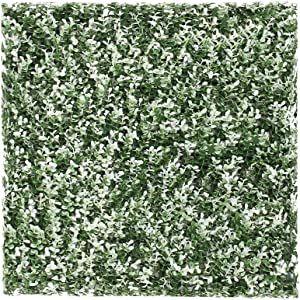 ECOOPTS Artificial Ivy Fence Greenery Panel Laurel Boxwood for Outdor Indoor Backyard Garden Privacy Fence Ivy Screen Buxus White 6 Pieces