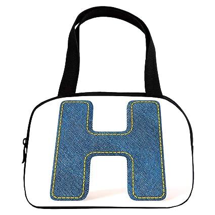 95364739f693 Amazon.com   iPrint Personalized Customization Small Handbag Pink ...