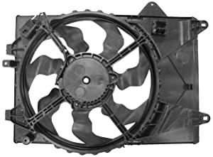 TYC 622840 Replacement Cooling Fan Assembly for Chevrolet Sonic