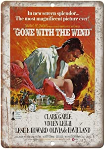 NOT Gone with The Wind Clark Gable Metal Wall Sign Tin Warning Hanging Signs Vintage Plaque Art Poster Painting Celebrity Yard Garden Door Bar Cafe Easter