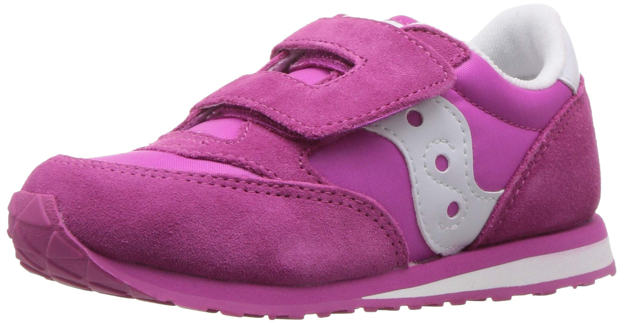 Saucony Kid's Baby Jazz H&L-K Sneaker Pink 9 Wide US Toddler