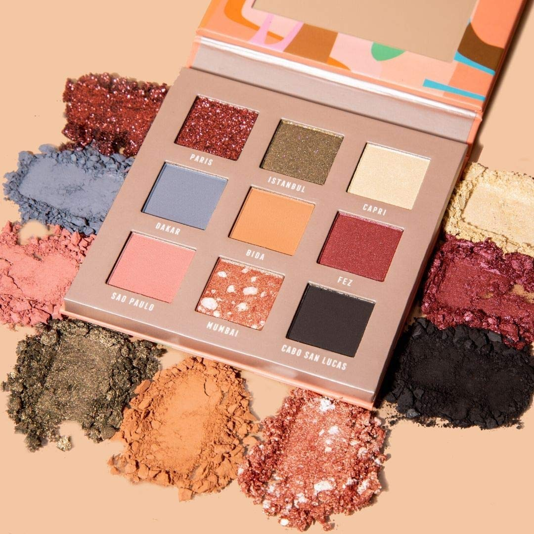 Bossy Cosmetics Style, Meet Substance Eyeshadow Palette