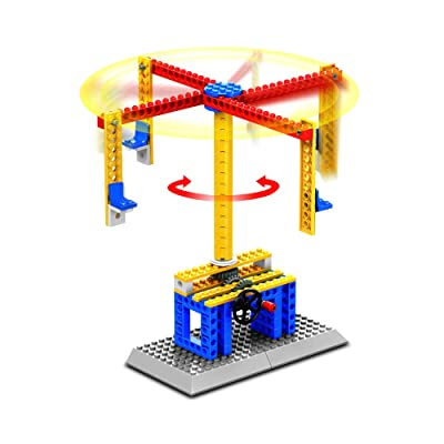 Fat Brain Toys Brain Bricks Mechanics: Adventure Park Building & Construction for Ages 6 to 8: Toys & Games