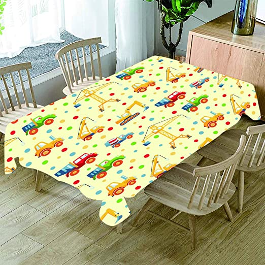 REQATABLECLOTH Mantel Mesa Rectangular Antimanchas Impermeable ...