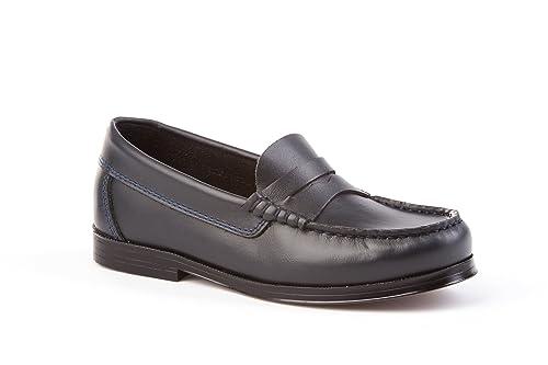 Zapatos Mocasines Infantiles Todo Piel, mod.593. Calzado infantil Made in Spain,