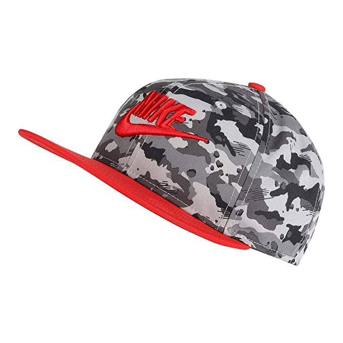 Nike True Cap Camo 2 Gorra, Niños, Multicolor (Atmosphere Grey ...
