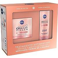 NIVEA Pack Hyaluron Cellular Filler Tratamiento Antimanchas y Elasticidad, set de regalo con crema antiarrugas con FP30…