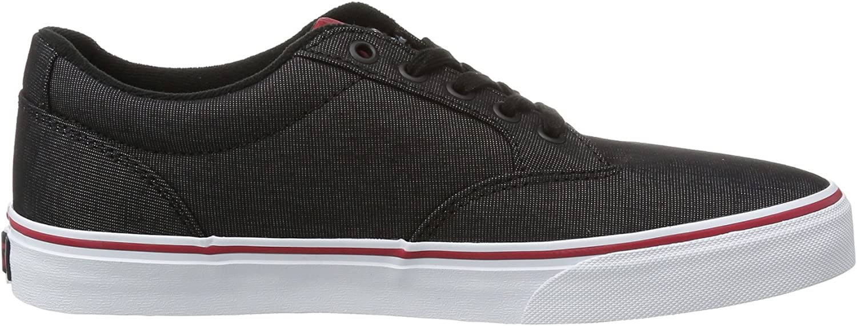 vans winston dx men's skate shoes black