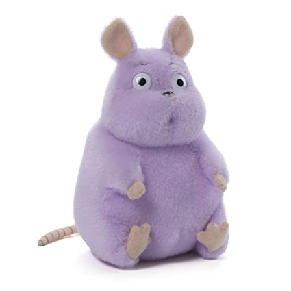 Amazon Com Gund Spirited Away Boh Mouse Seated Stuffed Animal Plush