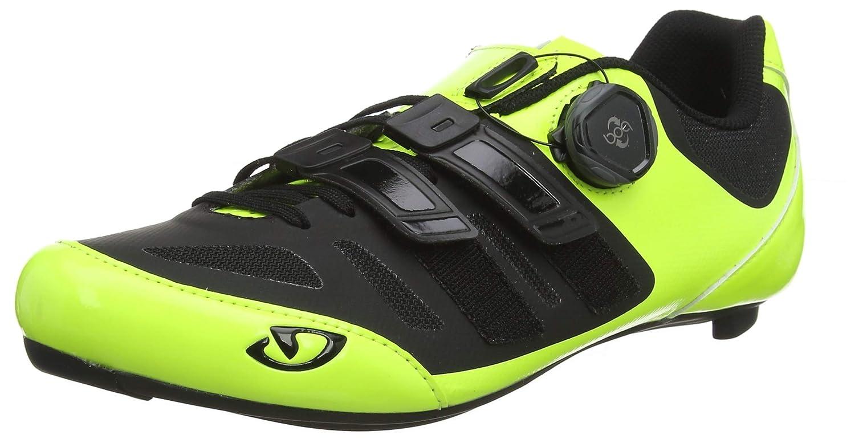 Giro Sentrie Techlace Road Chaussures de V/élo de Route Homme Multicolore Highlight Yellow//Bla 000 43 EU