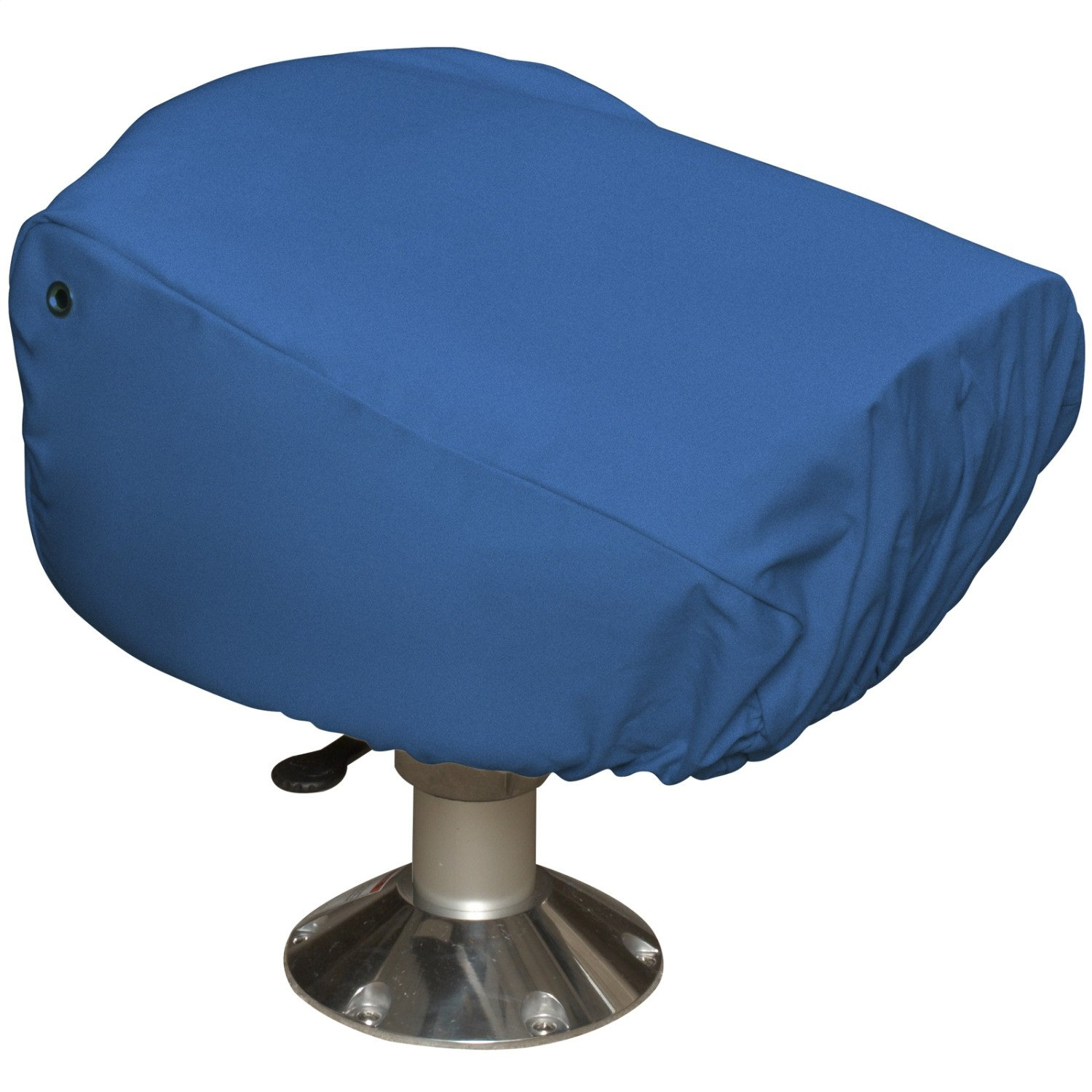 Budge Single Boat Seat Cover Fits a Single Boat Seat 22'' Long x 19'' Wide x 21'' High, BA-10 (Blue)