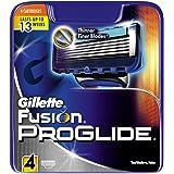 Gillette Fusion ProGlide Razor Blades - Pack of 4