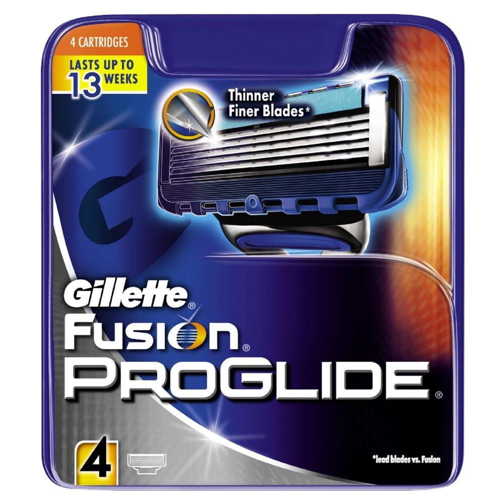 Gillette Fusion ProGlide Razor Blades - Pack of 4 84851091