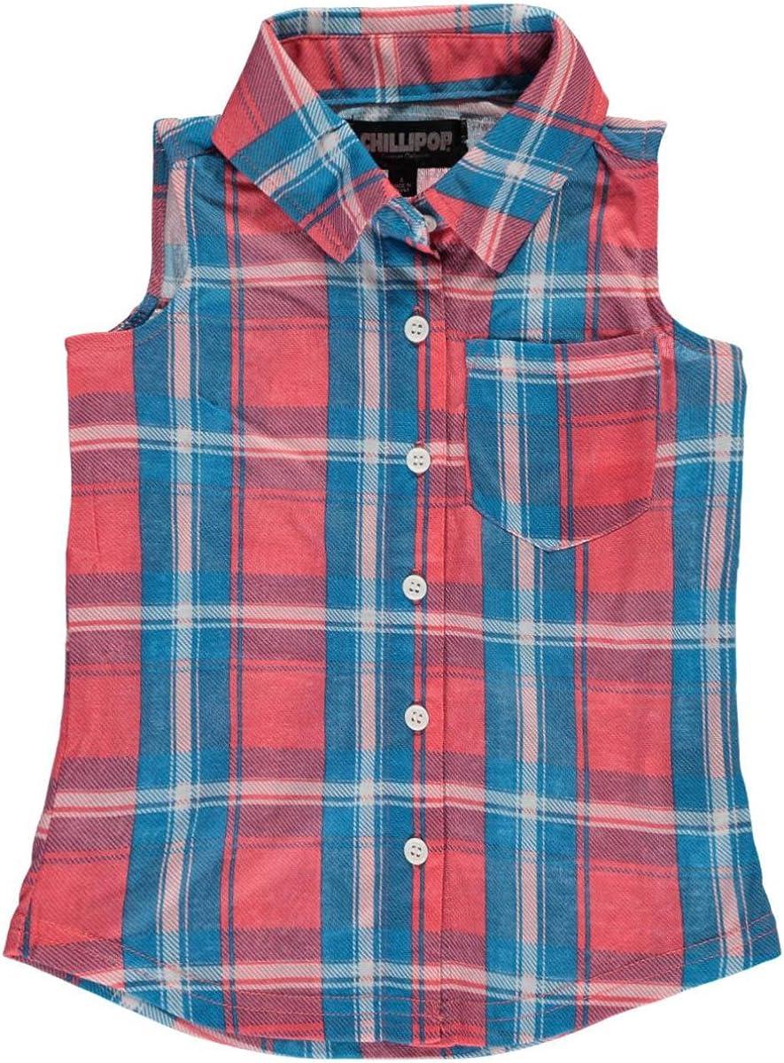 Chillipop Girls Button-Down Shirt