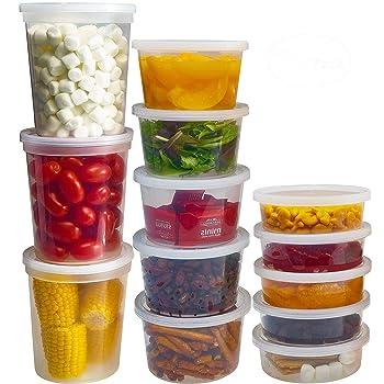 DuraHome Deli Round Freezer Containers