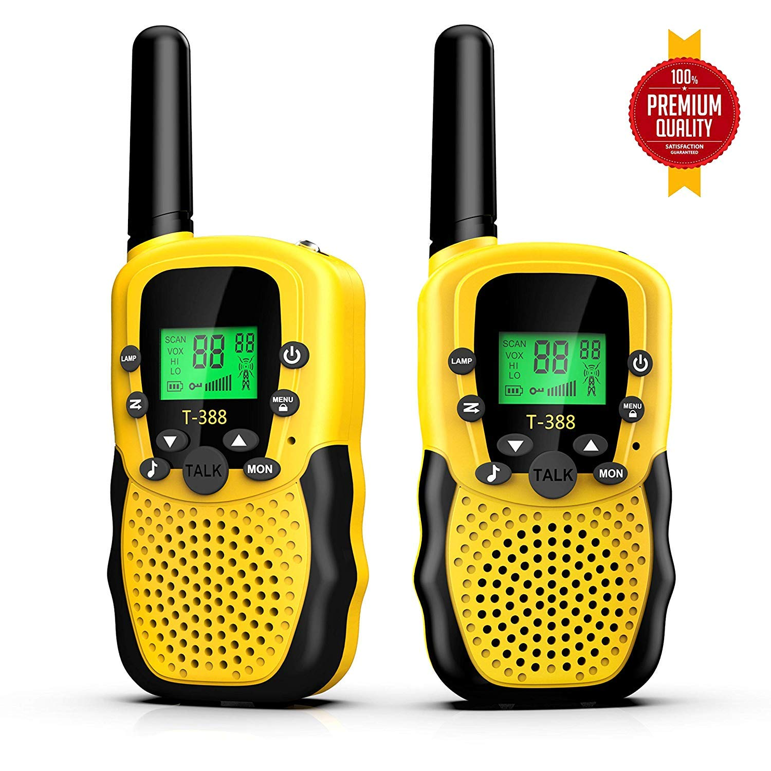 Kids Walkie Talkies, Walkie Talkies for Boys and Girls, 22 Channels 10 Customized Ringtones with Flashlight for Outdoors Good Parenting Toys by VERDUO (Image #1)