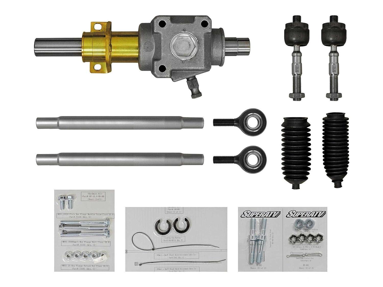 Amazon.com: SuperATV RackBoss Heavy Duty Rack and Pinion for Polaris RZR 1000/4 Seater/XP Turbo (2014+): Automotive