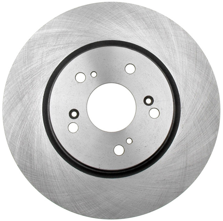 ACDelco 18A2463A Advantage Non-Coated Front Disc Brake Rotor