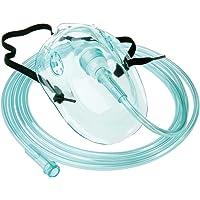 Tiga-Med–adultos máscara de oxígeno con verde 210cm oxígeno