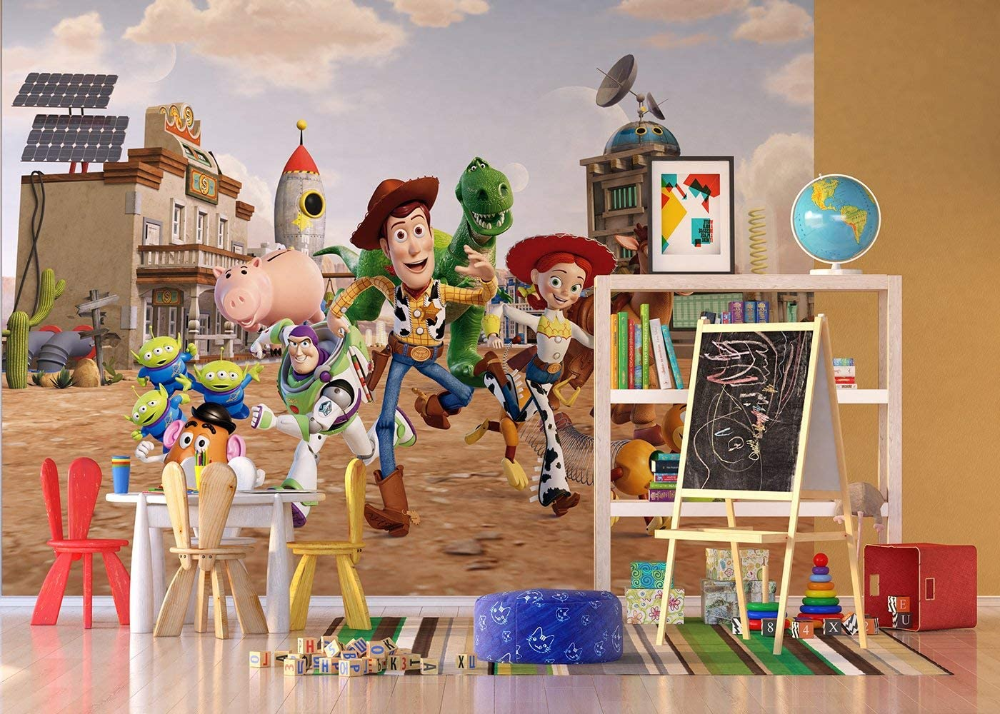 Disney Toy Story Wallpaper Xxl Amazon Co Uk Kitchen Home