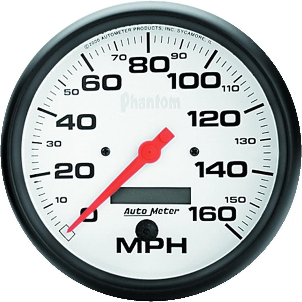 AutoMeter 5893 Phantom In-Dash Mechanical Speedometer