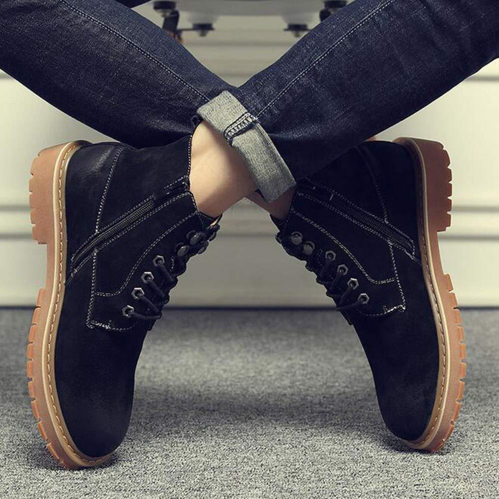 JIAMIJ Herren Lederstiefel Oxford Schuhe Retro Formelle Arbeit Rutschfeste Verschleißfeste Verschleißfeste Verschleißfeste Casual Classic Schuhe,schwarz-Plusvelvet-38 6916d9