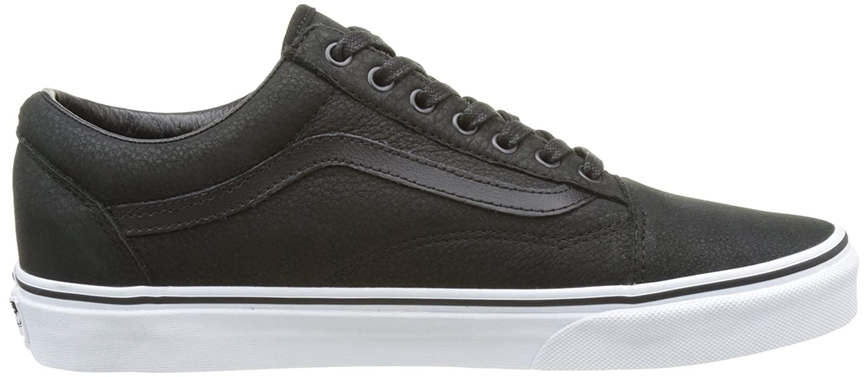Vans Unisex Old Skool Classic Skate Shoes B01LYVWITM 13 M US Women / 11.5 M US Men Black/True White