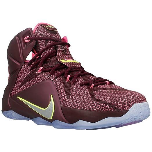 3c25ae05b6b ... new zealand nike lebron xii 12 double helix men basketball sneakers new  merlot d24c1 17b32