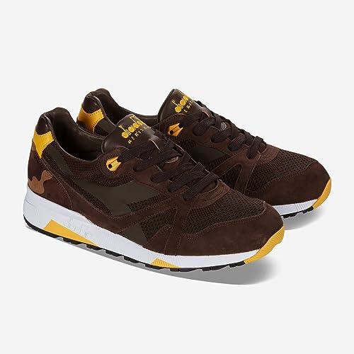 scarpe calcio diadora uomo marrone