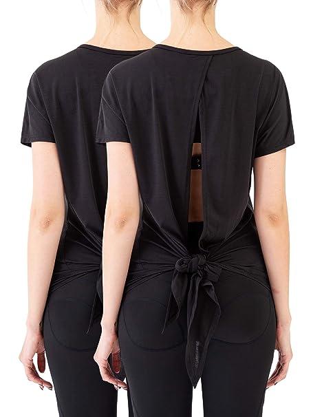 Amazon.com: Neleus - Camiseta de yoga para mujer: Clothing
