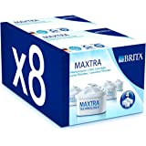 【並行輸入品】 BRITA (ブリタ) MAXTRA (マクストラ) お徳用8個セット BTIRTA浄水器ポット交換用カートリッジ8個セット (4個2パック)
