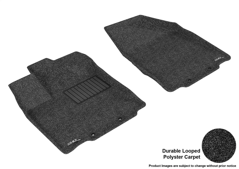 Tan L1NS05822202 Classic Carpet 3D MAXpider Second Row Custom Fit Floor Mat for Select Nissan Pathfinder Models
