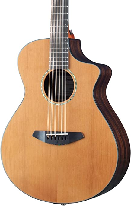 Breedlove solo 12-string guitarra electroacústica Natural: Amazon ...