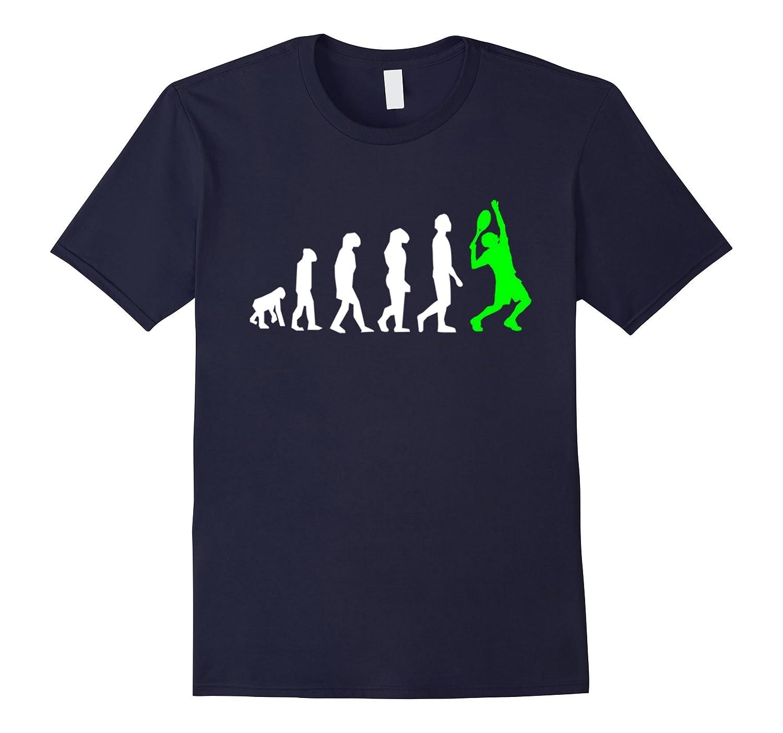 Mens Tennis Evolution T Shirt Large-Teeae