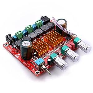 Gain Switch 100w Audio Stereo Amplifier Yeeco 50w 50w