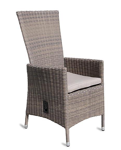 Sedie In Rattan Sintetico.4 X Sedia Da Giardino In Rattan Sintetico Di Alta Qualita Lounge