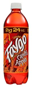 Faygo Candy Apple Soda, 24 oz (24 Bottles)