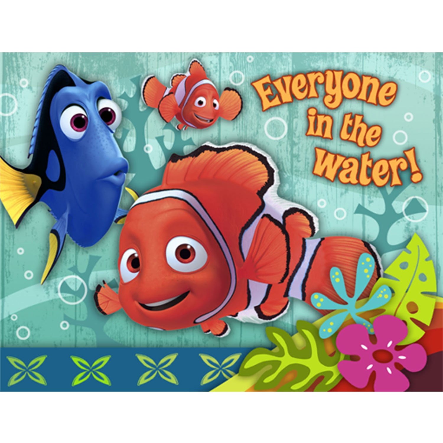 Amazon.com: Finding Nemo \'Coral Reef\' Invitations w/ Envelopes (8ct ...
