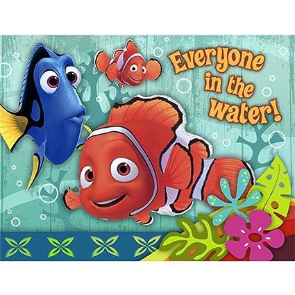 Amazon Com Finding Nemo Coral Reef Invitations W Envelopes 8ct
