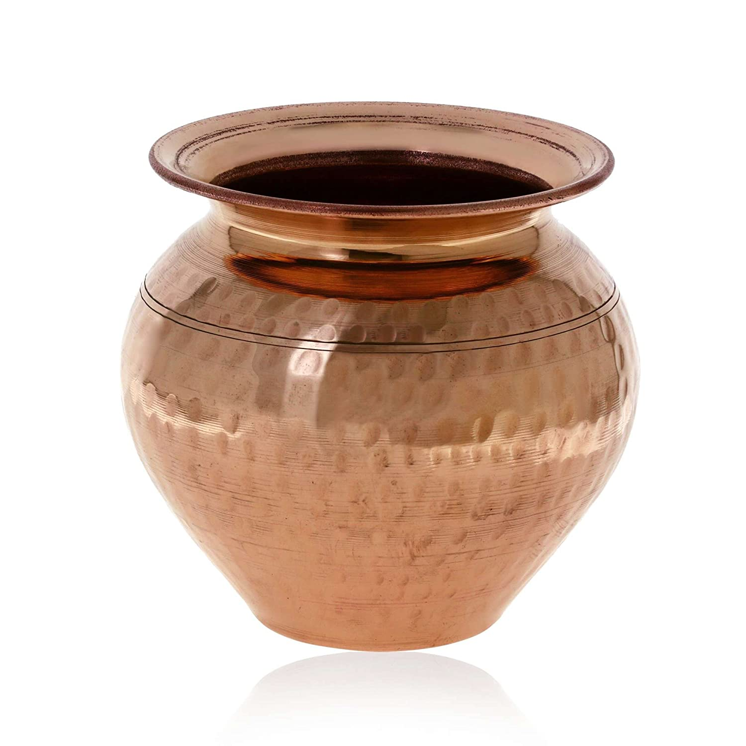 Copper jug Ayurvedic Product Water Pitcher Handmade Indian lota ShalinCraft MN-copper_lota