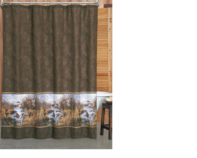 Mallard duck shower curtain - Mallard Duck Shower Curtain 50