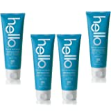 4 Pack Hello Fluoride Toothpaste Delicious Supermint 5 Oz each 4 Pack