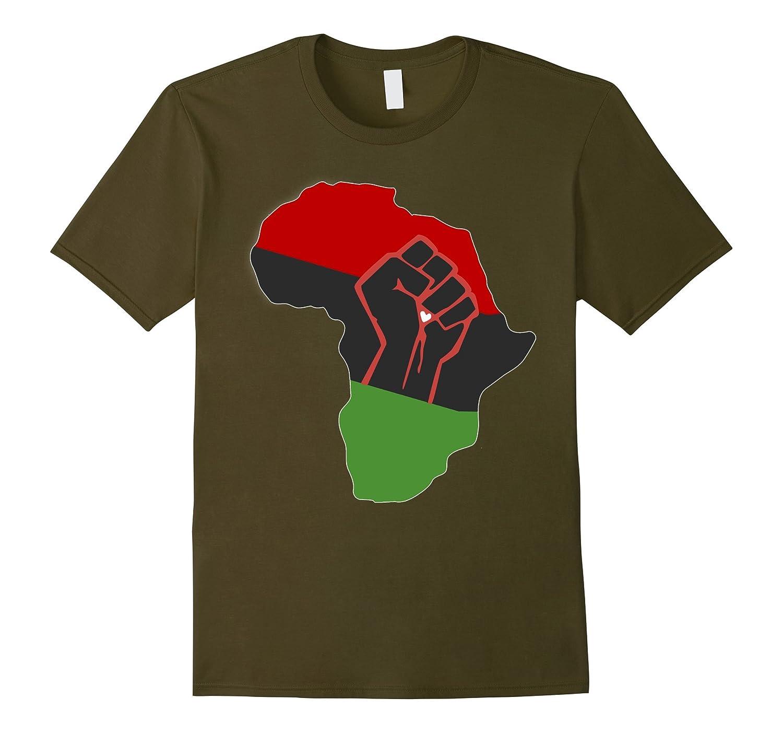 Africa T-Shirt Pan-African American Decent Africa Continent-Art