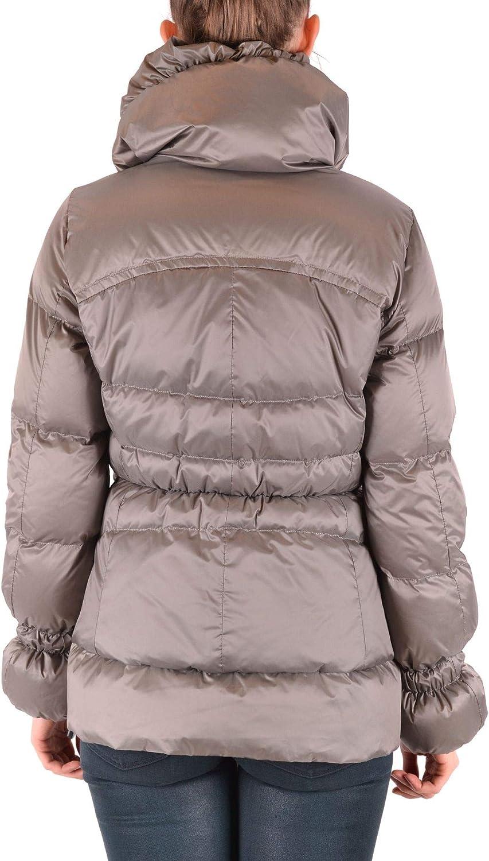 Geospirit Luxury Fashion Womens MCBI36978 Grey Down Jacket Season Outlet