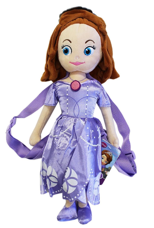 Disney 's Sofia the First子供用Small PlushバックパックW /小さなポケット   B077KKQGDS