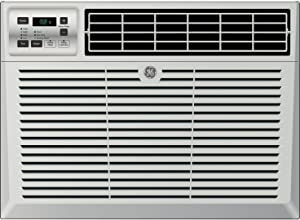 "GE AEM10AX 22"" Window Air Conditioner with 10000 Cooling BTU, Energy Star Qualified, in Light Cool Gray"
