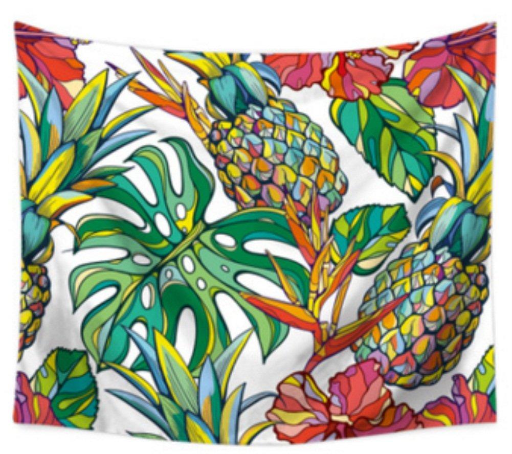 "Bookshelf Tapestry Wall Hanging Decor Vintage Bedspread Throw Blanket Mat 78X59/"""